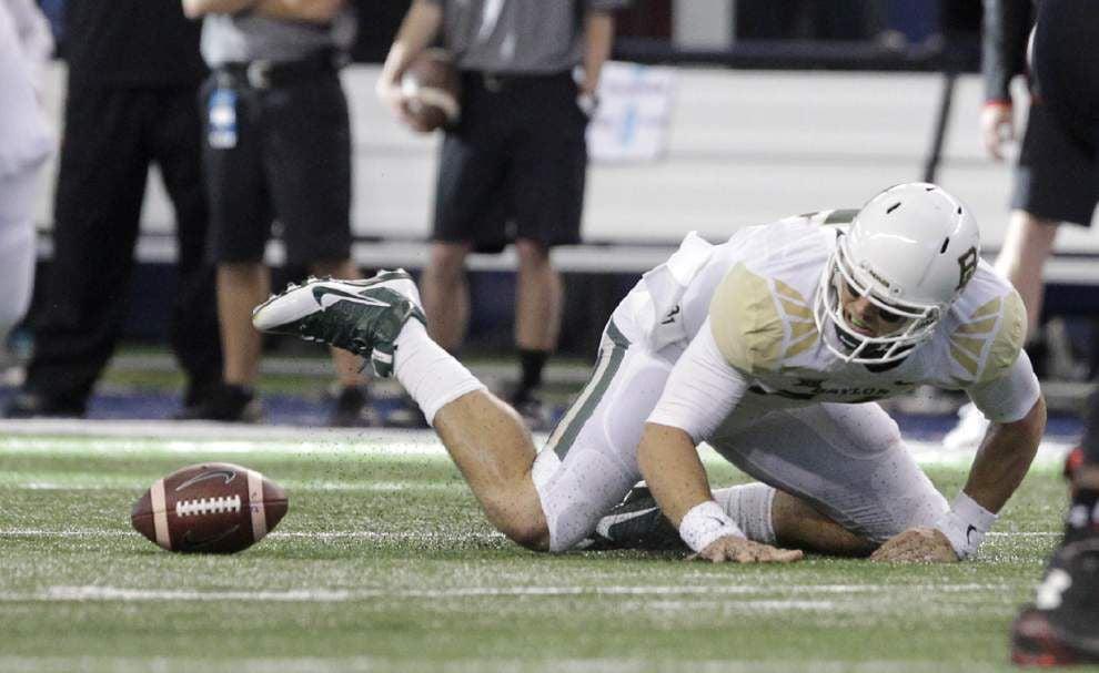 Baylor outguns Texas Tech 48-46 _lowres