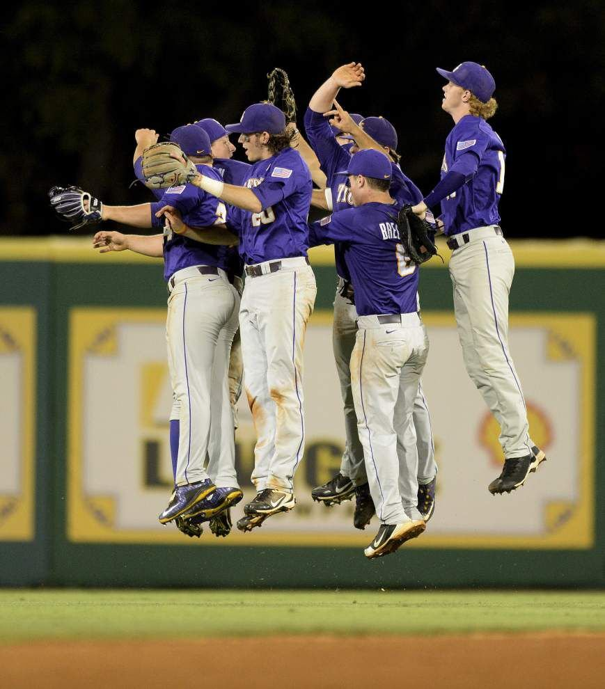 Rabalais: Why No. 1 LSU baseball's biggest challenge ahead 'appears to be themselves' _lowres