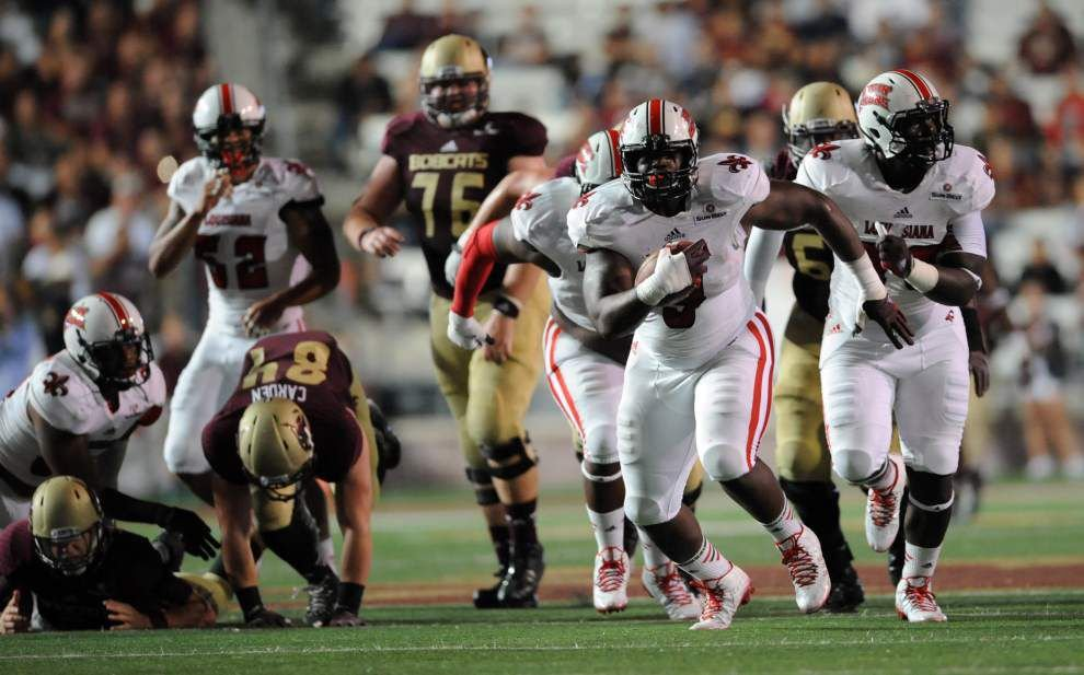 Ragin' Cajuns defensive tackle Christian Ringo always exceeds expectations _lowres