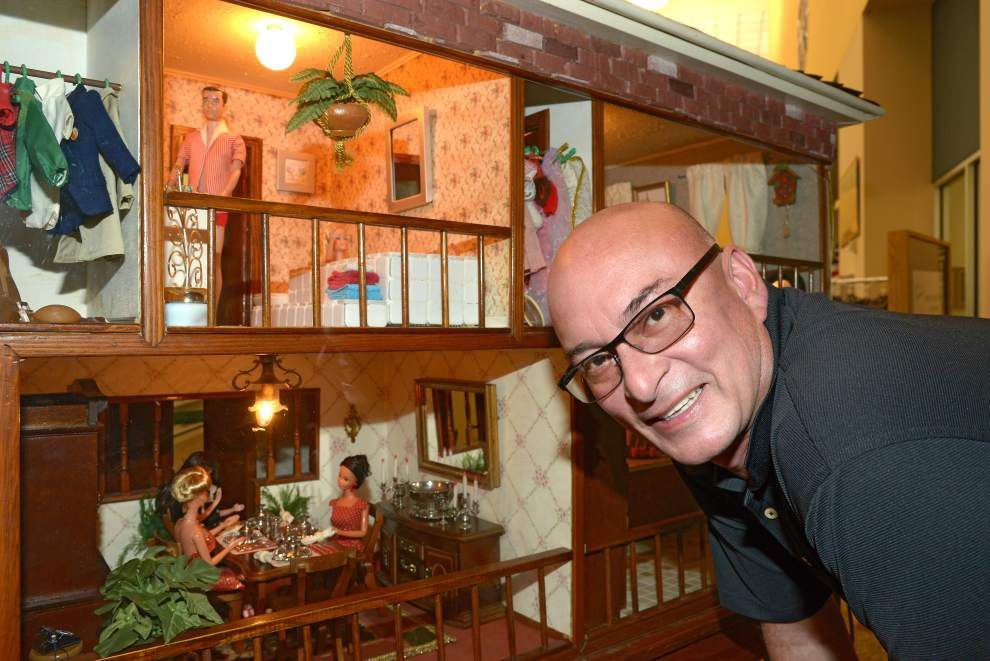 Metairie couple's dollhouse legacy goes on display after 30 years _lowres