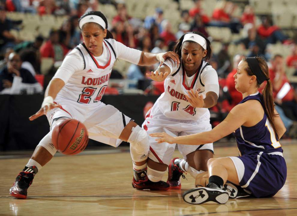 Depth serves Cajuns well in exhibition win over Loyola _lowres