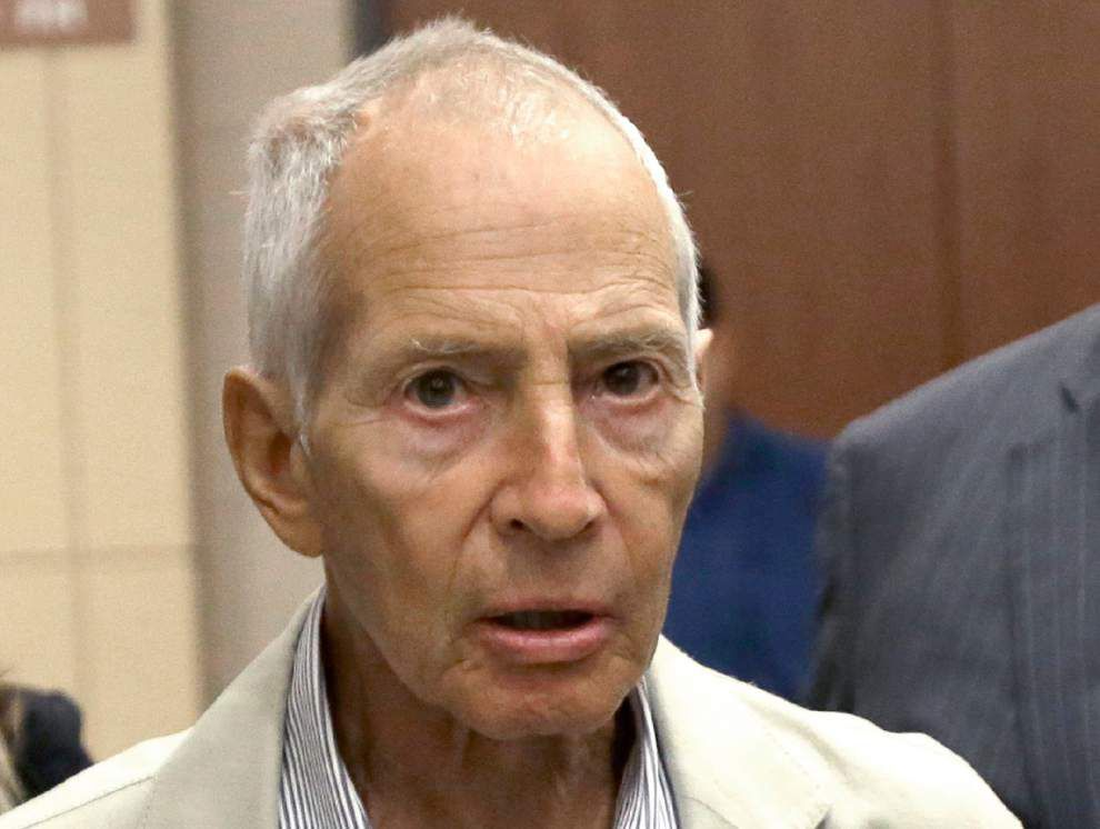 Robert Durst, looking frail, pleads not guilty to gun, drug charges in Louisiana _lowres