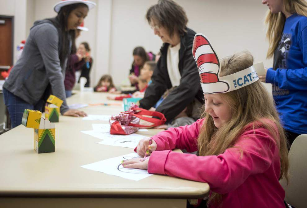 Dr. Seuss tales delight Lafayette youngsters at library event _lowres