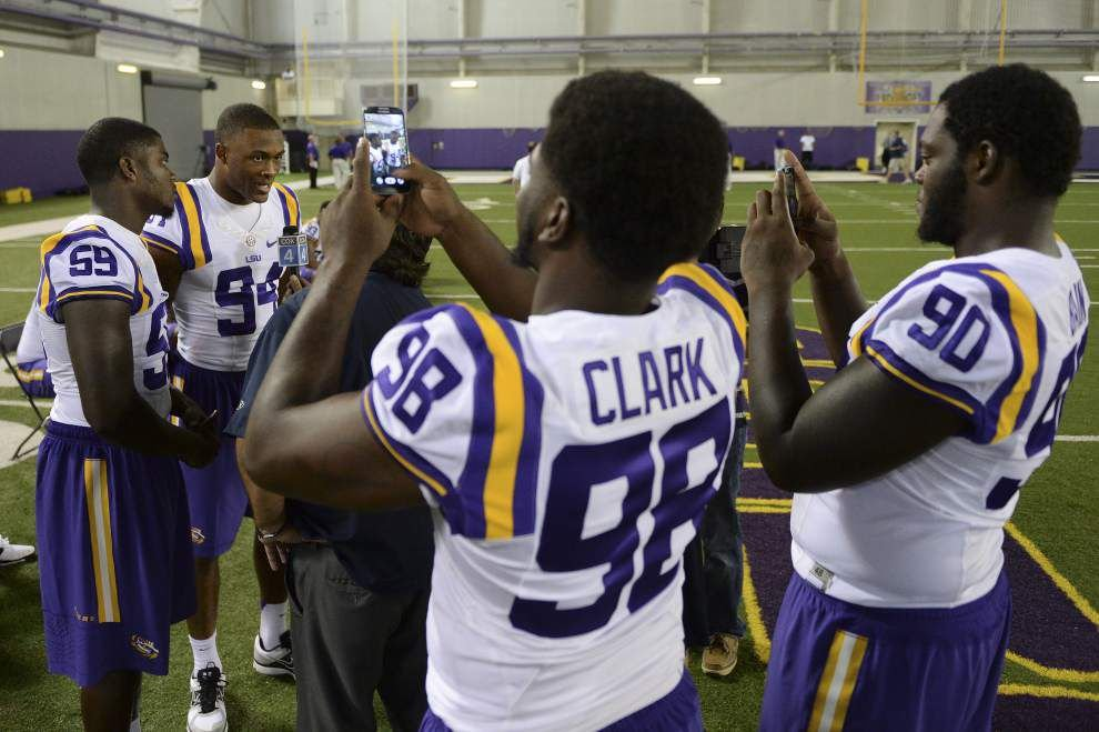 Deondre Clark doesn't regret his decision to come to LSU _lowres