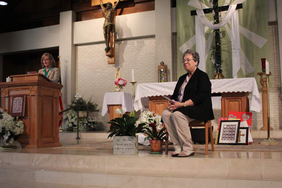 Last Catholic nun at St John and St. Theresa, retires _lowres