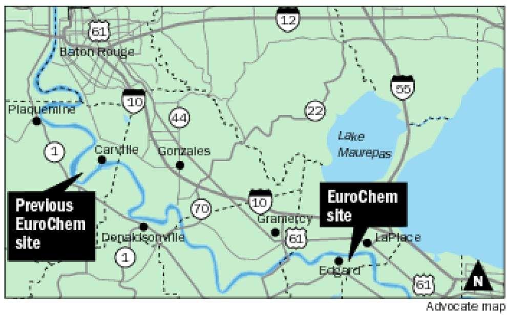 EuroChem chooses St. John the Baptist site over Iberville Parish for $1.5 billion plant _lowres