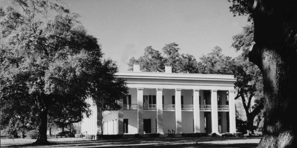 Ashland-Belle Helene in Ascension Parish restored to former glory; historic plantation home owned by Shell Chemical _lowres