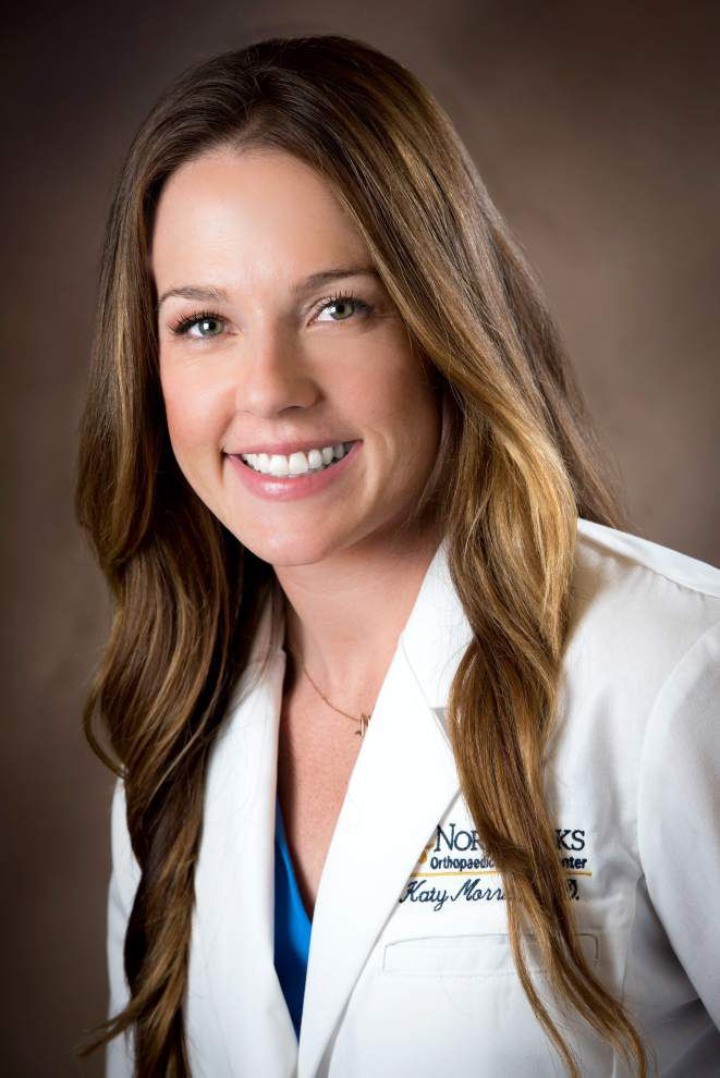 Morris joins North Oaks Orthopaedic center _lowres