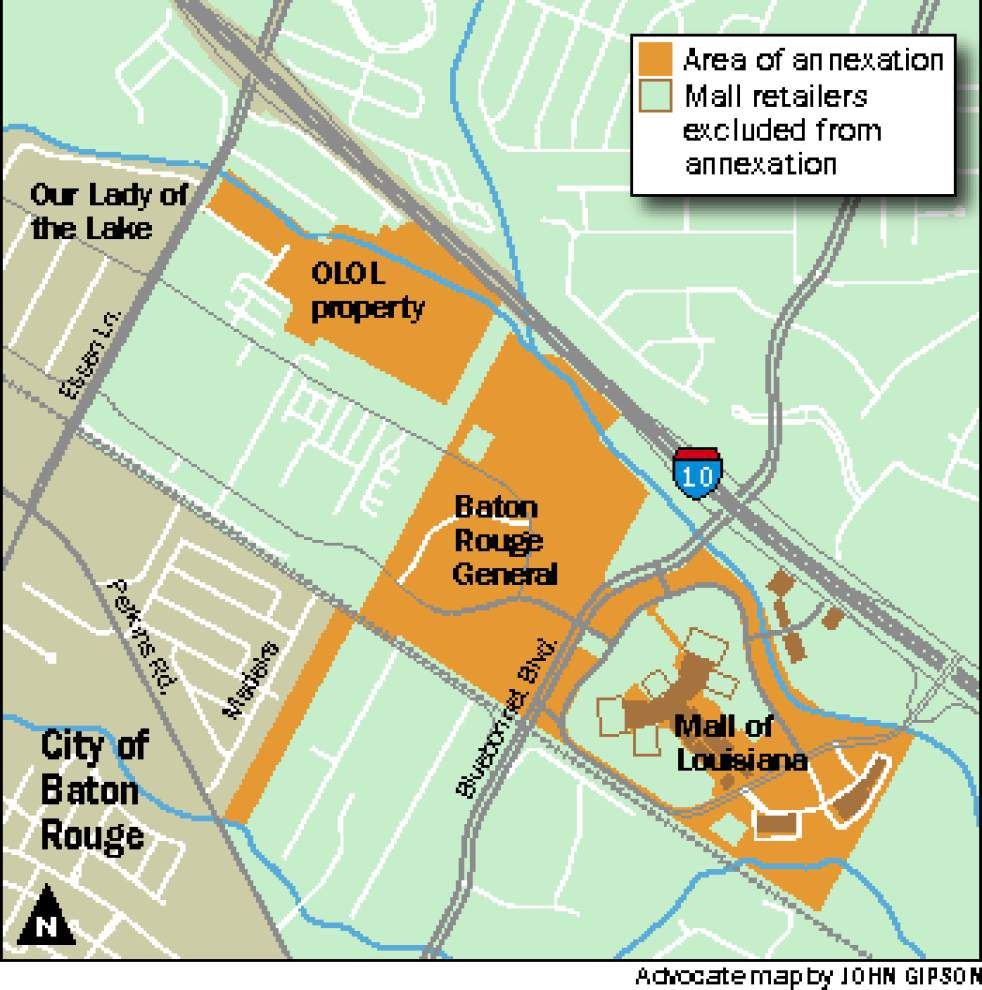 Metro Council approves Mall of La. annexation _lowres
