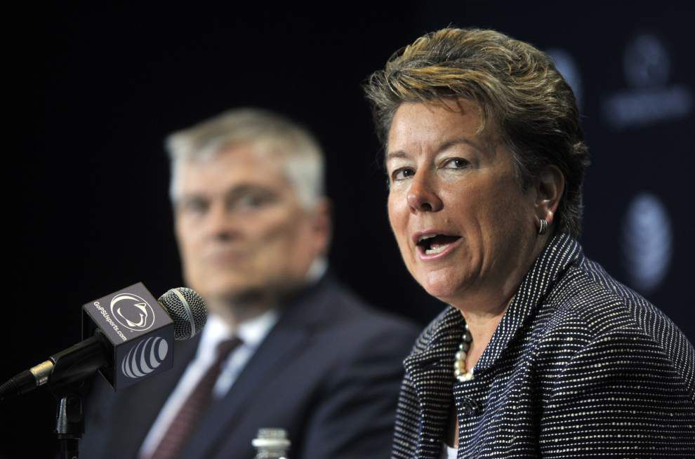 Penn State hires former Tulane A.D. Sandy Barbour _lowres