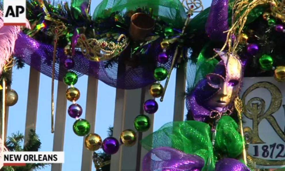 Crime during Mardi Gras worries New Orleans _lowres