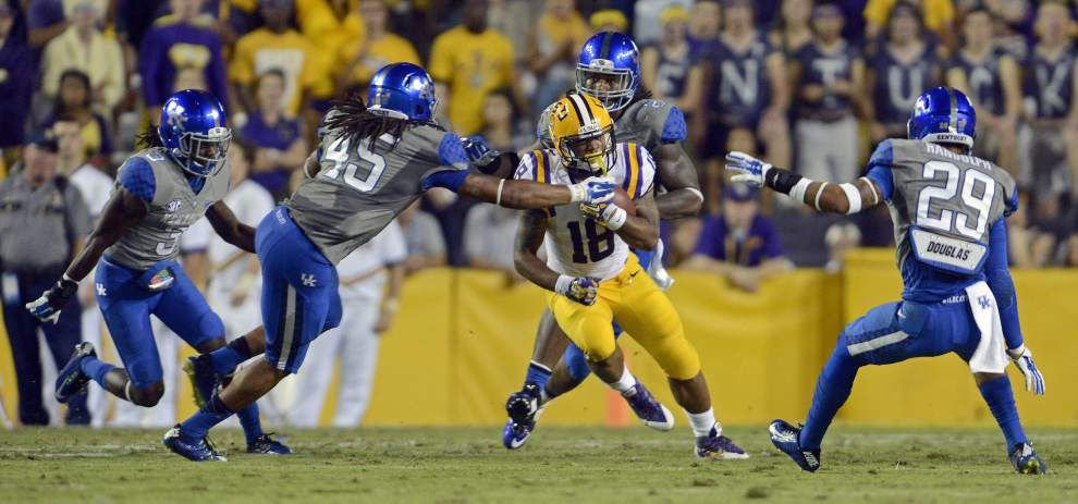 LSU's Terrence Magee plays starring role, leads Tigers by Kentucky _lowres