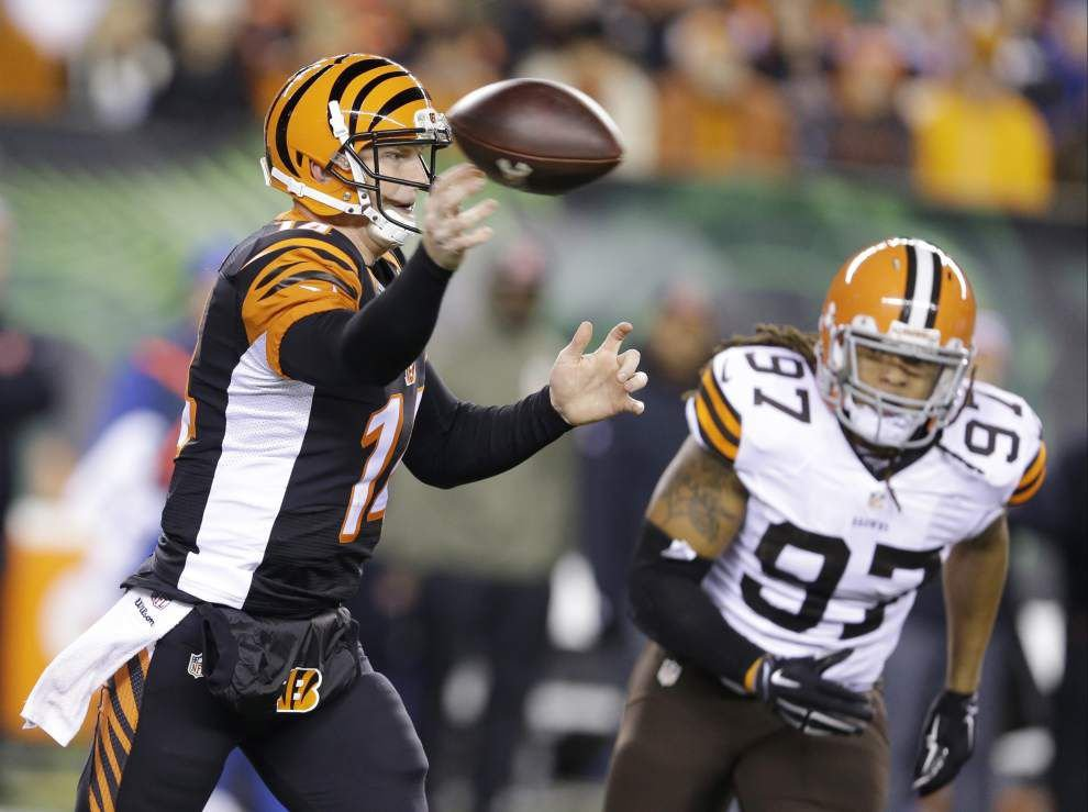 Led by slumping QB Andy Dalton, Bengals prepare to invade New Orleans _lowres