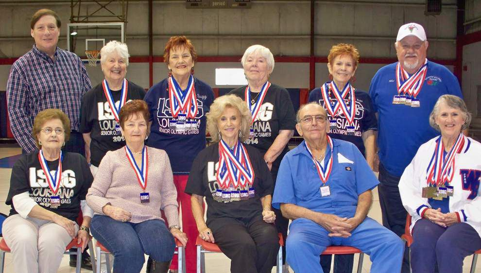 Harvey Golden Age Club members find success at State Senior Olympics _lowres