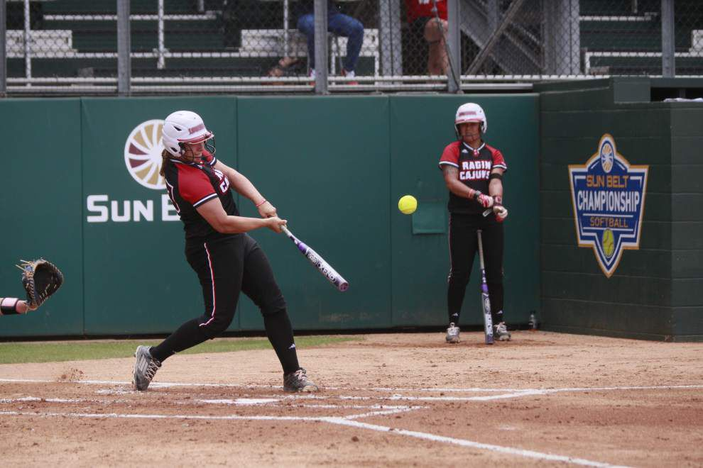 Cajuns, former Red Raider Lexie Elkins welcome Texas Tech for doubleheader Thursday _lowres