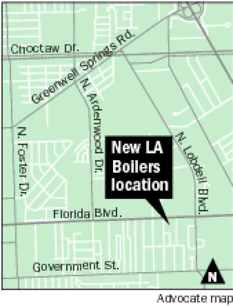 LA Boilers leases Florida Boulevard site _lowres