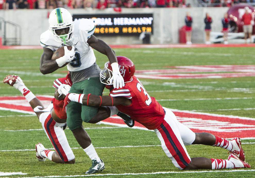 Woman who accused star Tulane wide receiver Teddy Veal of rape sues university, women's basketball coach Lisa Stockton _lowres