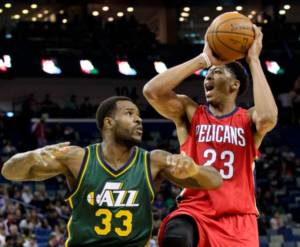 Photo gallery: Pelicans beat Jazz 119-111 _lowres