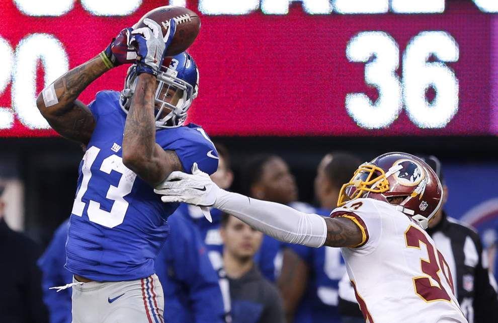 Eli Manning, Odell Beckham Jr. spark Giants over Redskins _lowres