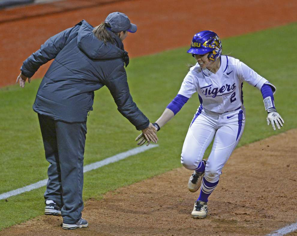 Nicholls State up next for LSU softball team _lowres