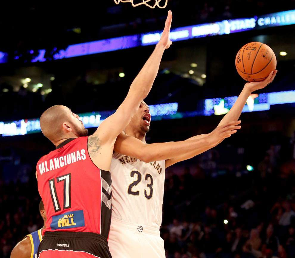 Video: Davis gets strong reviews on All-Star Saturday _lowres