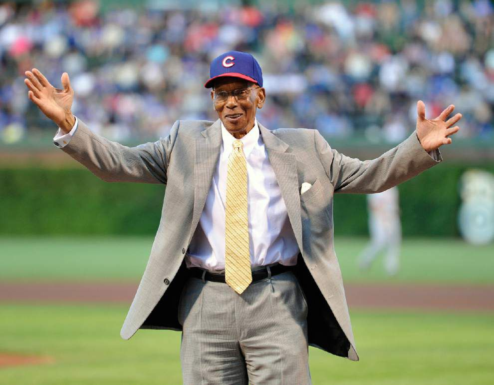 Cubs legend and Hall of Famer Ernie Banks dies at age 83 _lowres