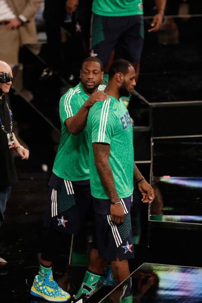 Video: Wade says team animosity pushed aside in All-Star game _lowres