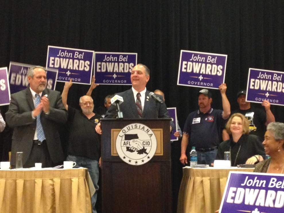 Labor group endorses Edwards in governor's race _lowres