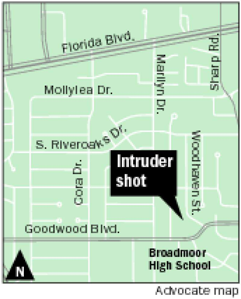 Intruder shot dead during attempted break-in in Baton Rouge _lowres