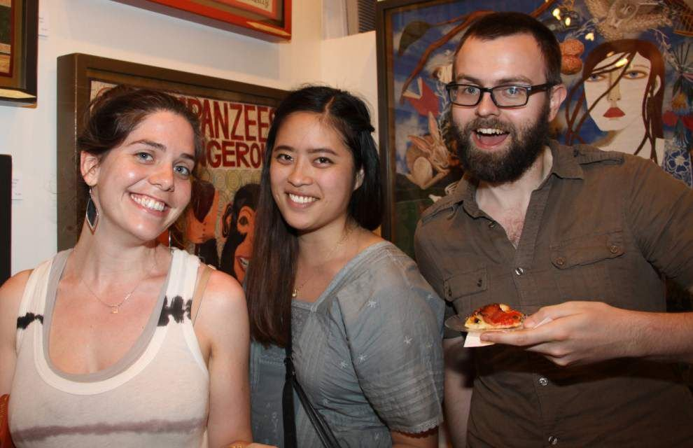 Steven Forster's Party Central: Antieau Gallery's fifth anniversary _lowres