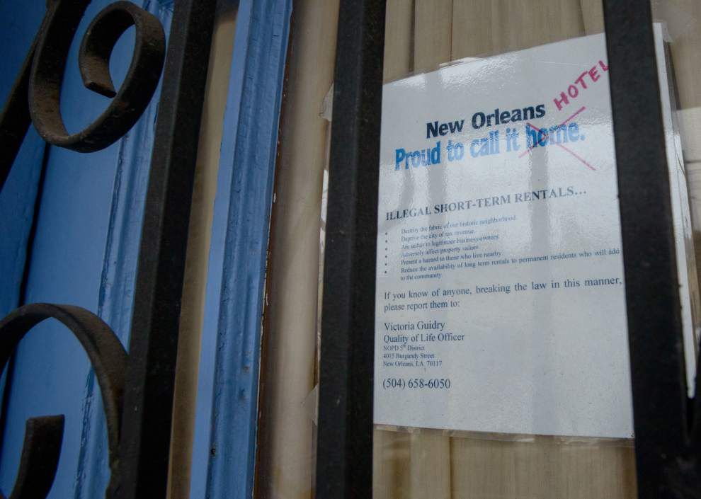 Plan to legalize short-term rental market in New Orleans gains praise from supporters _lowres