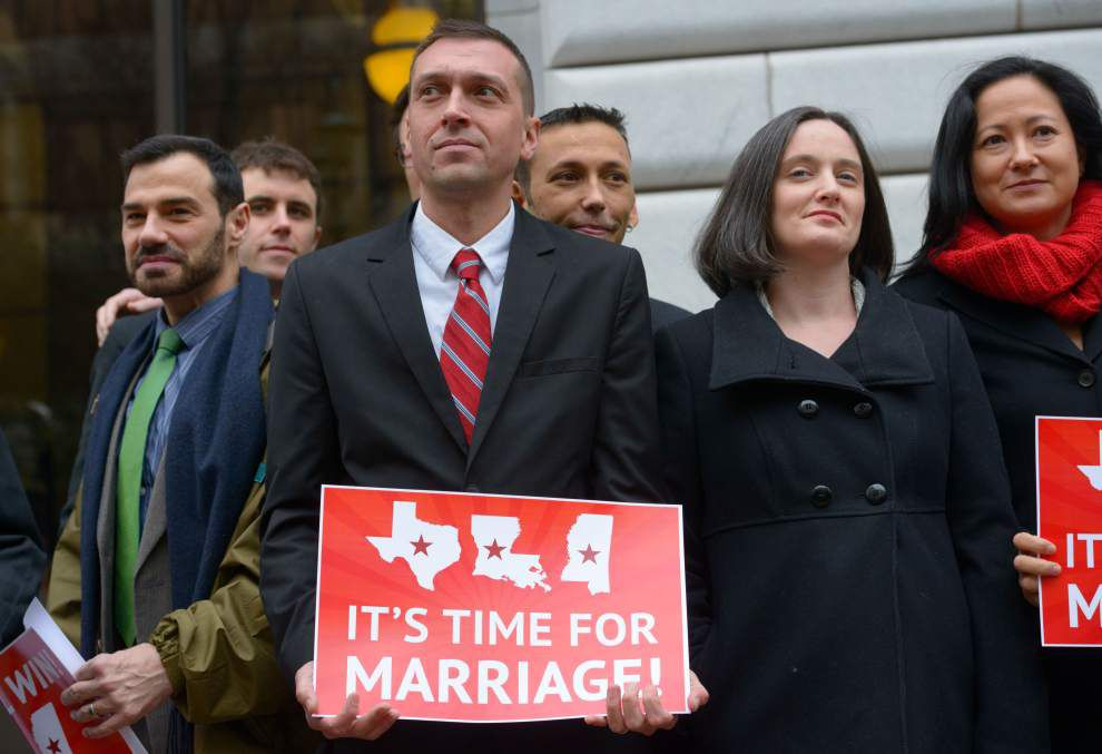 Supreme Court won't take up Louisiana lawsuit over same-sex marriage _lowres