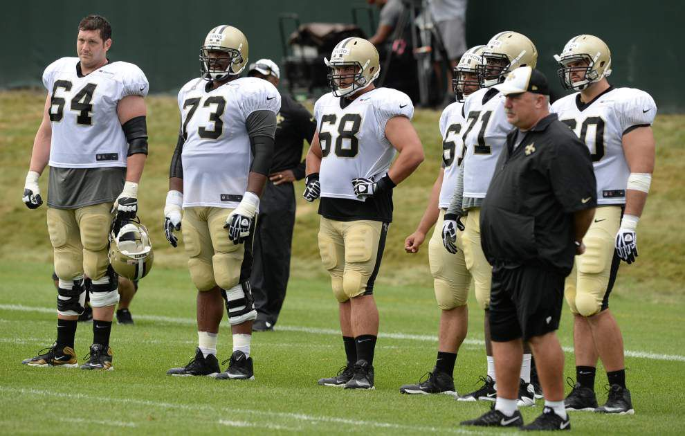 Reports from the the Saints' Monday practice (July 28) _lowres