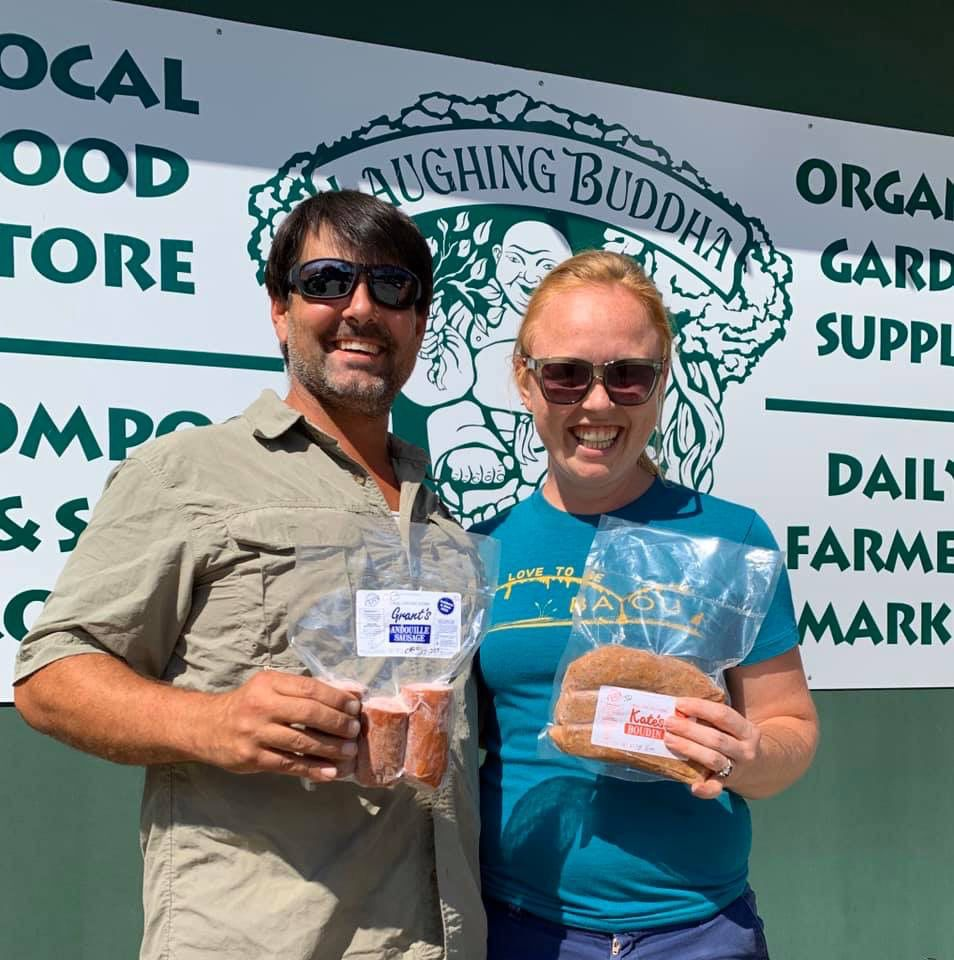 Laughing Buddha farm owners release boudin sausage brand Oct. 26