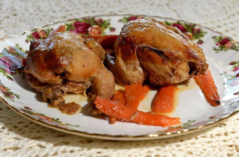 Slow-cooked Honey Mustard Cornish Hens _lowres