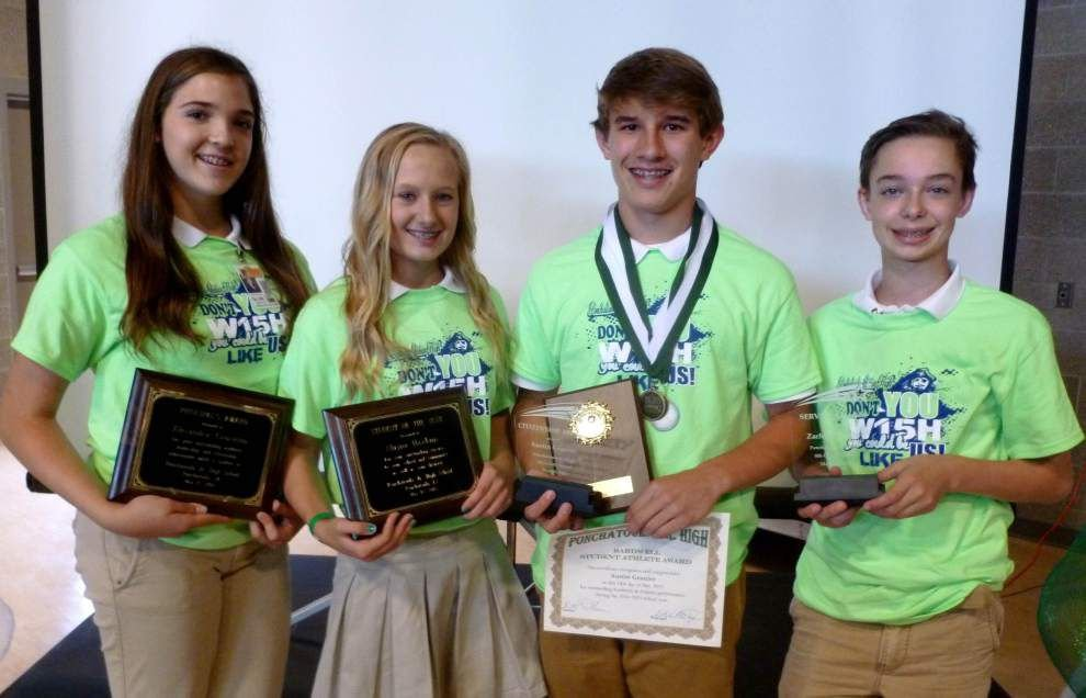 Ponchatoula school announces annual Awards Day winners _lowres