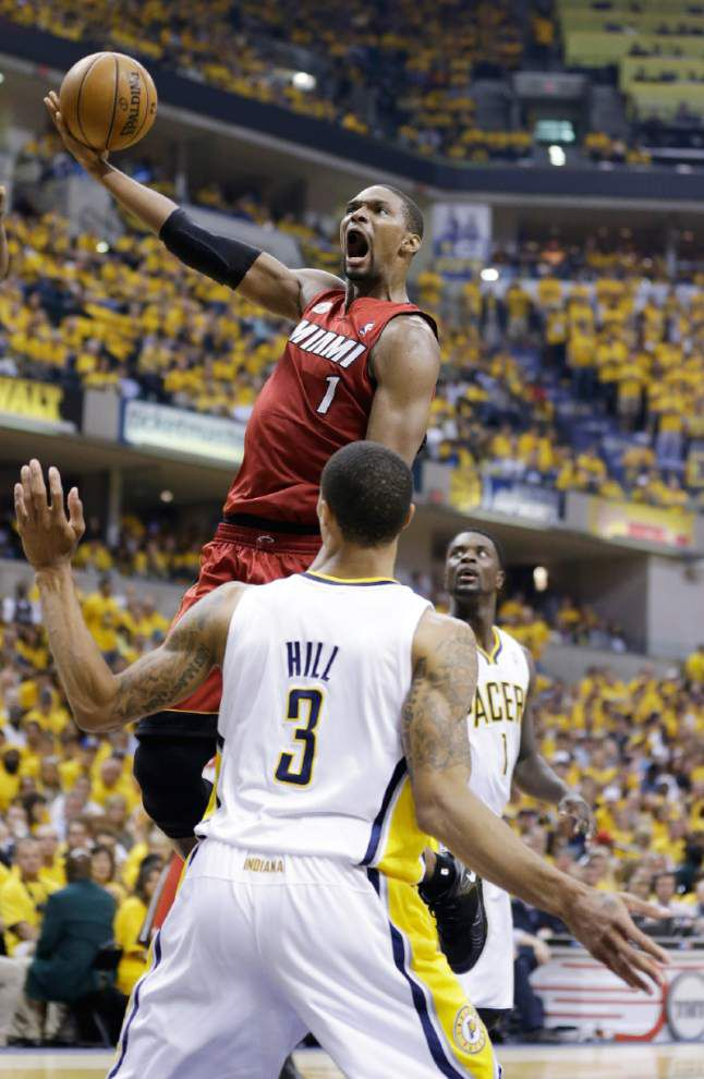 AP sources: Chris Bosh agrees to max deal with Heat _lowres