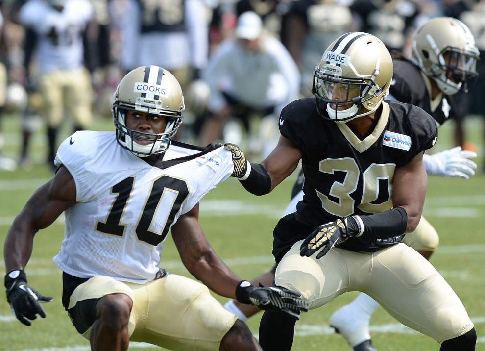 On Saints cut day, Kevin Reddick, Rod Sweeting and Logan Kilgore not spotted at practice _lowres