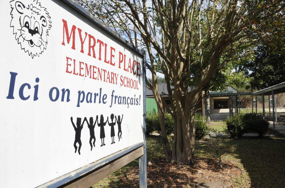 Lafayette School Board to consider making Myrtle Place Elementary the district's flagship French immersion school _lowres
