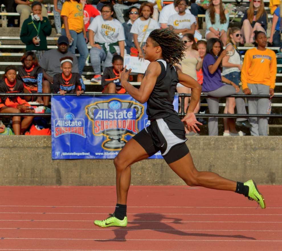 The New Orleans Advocate's 2014 all-metro girls track team _lowres