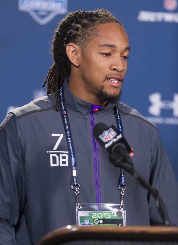 Ex-LSU cornerback Jalen Collins' stature is growing, even if he's just a tad shorter than advertised _lowres