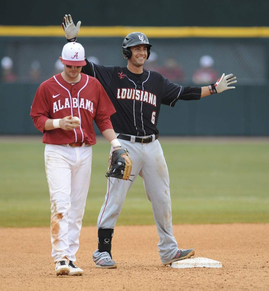 Ragin' Cajuns catcher Nick Thurman seeing rewards for his hard work _lowres