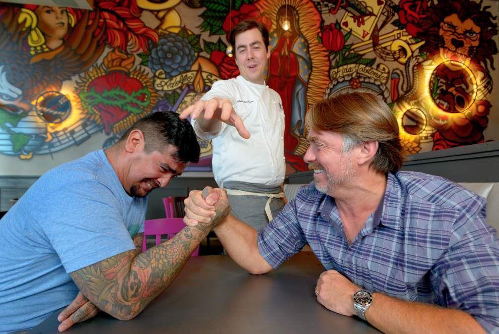 Celebrity chef friendship spawns new Mexican restaurant _lowres