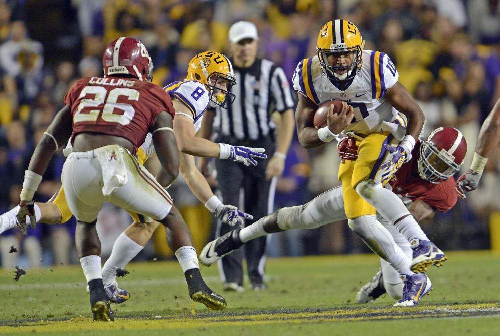 With misfired and dropped passes, LSU aerial attack continues to sputter _lowres