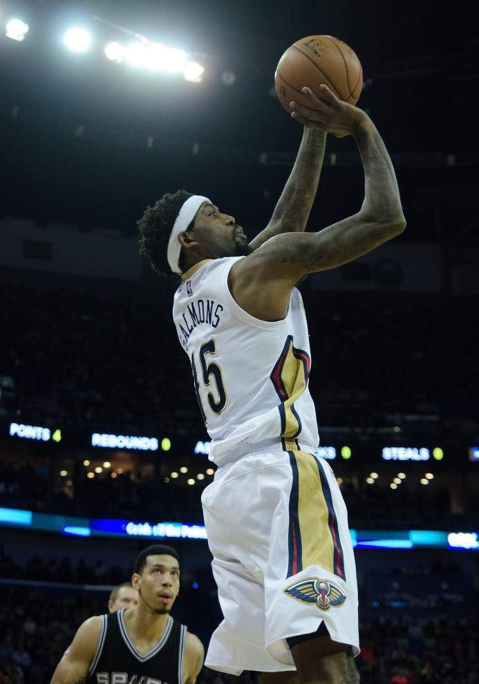 Forward John Salmons leaves the Pelicans to deal with a 'fairly serious' family matter, coach Monty Williams says _lowres