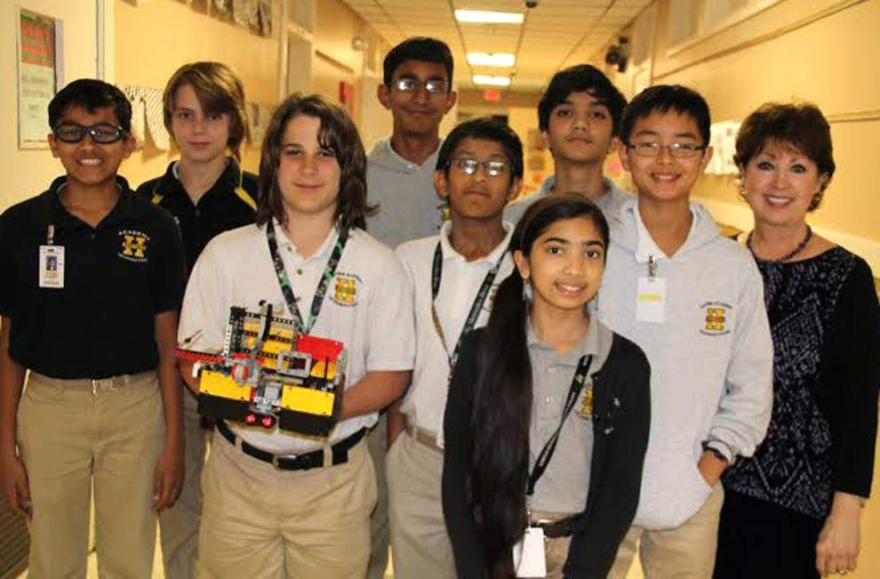 Around Jefferson: Haynes robotics team goes to Calif. _lowres
