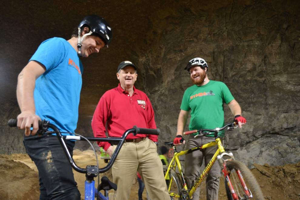 Underground bicycle park being built in old Kentucky mine _lowres