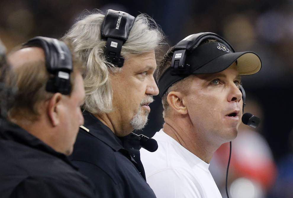 Ted Lewis: Saints coaches, players cool with the heat of the moment _lowres