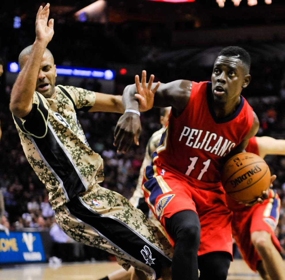 Pelicans optimistic heading into showdown with Spurs _lowres