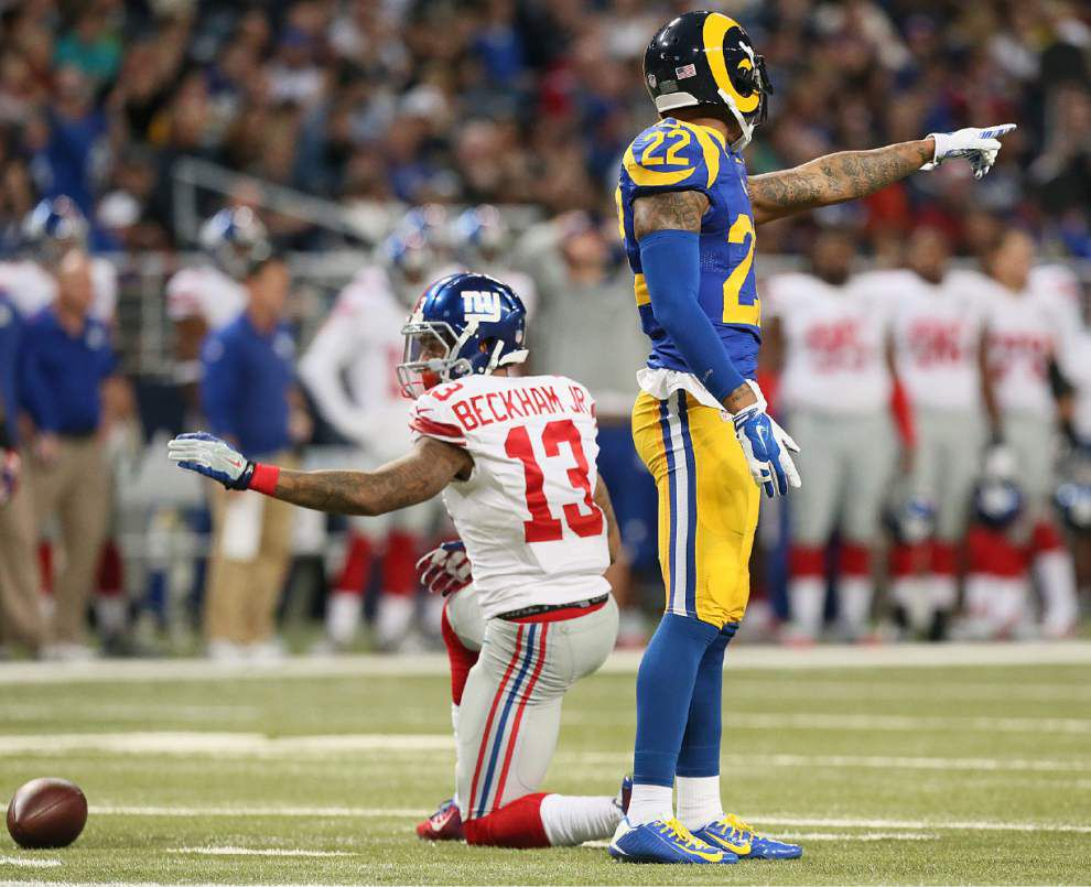 NFL notebook: Odell Beckham Jr., five other Giants fined by NFL _lowres